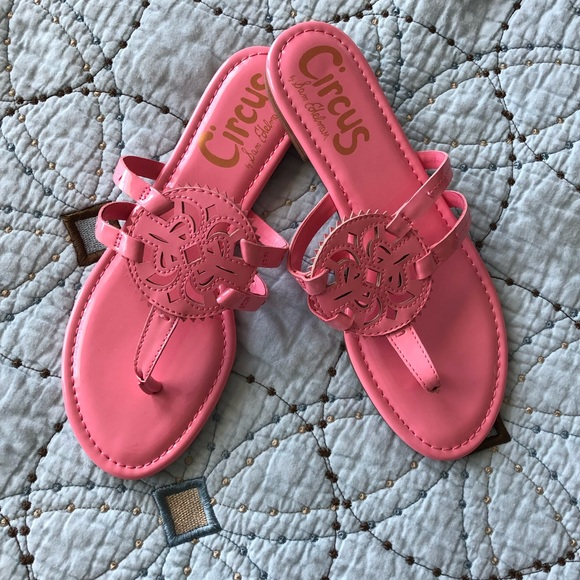 Sam Edelman Shoes - New Sam Edelman Circus Pink Flats Sandals sz 8